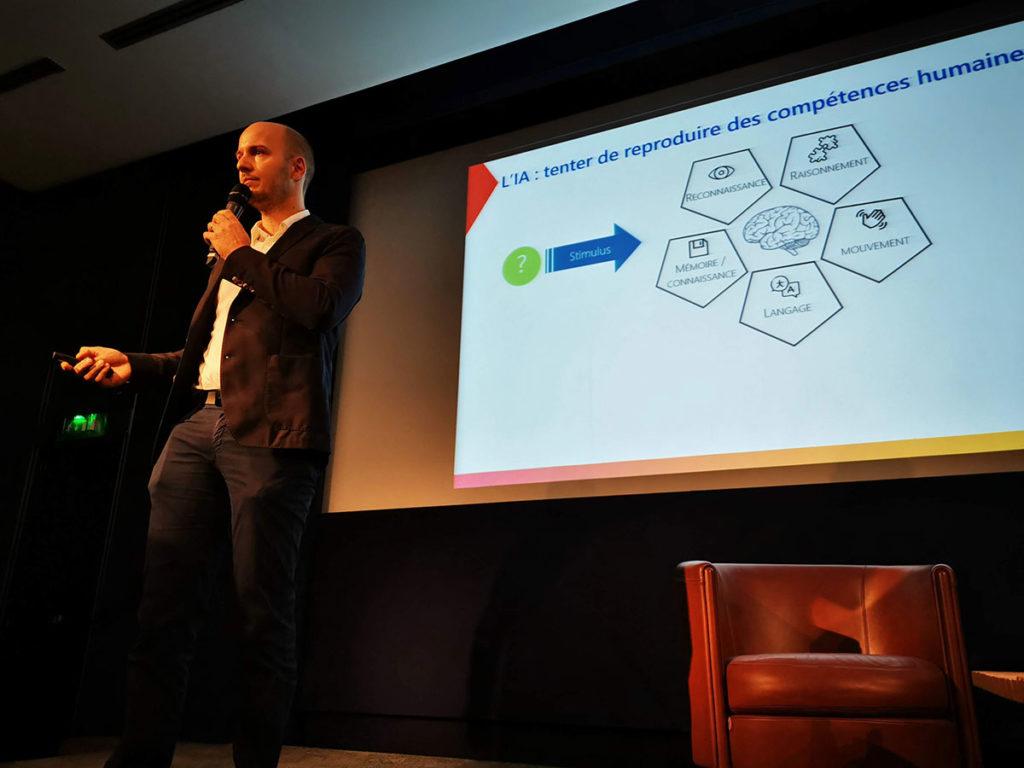 Florian Miconi sur l'Intelligence Artificielle à Bizz & Buzz