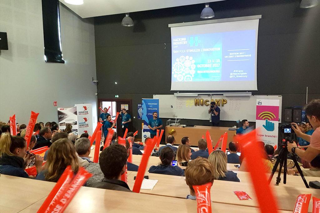 Un hackathon organisé par Alsace Digitale